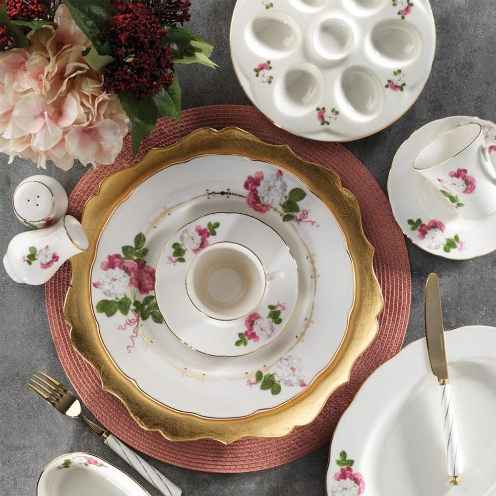 28dílná sada nádobí z porcelánu Kutahya Coco