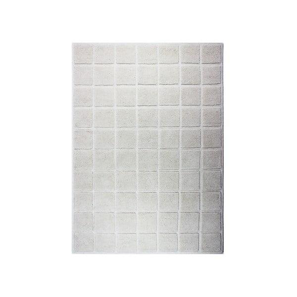 Vlněný koberec Blocks 120x170 cm, světlý