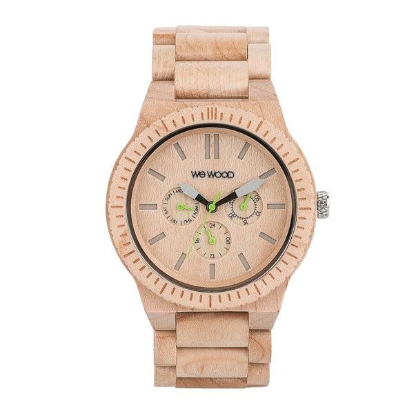 Dřevěné hodinky Kappa Beige