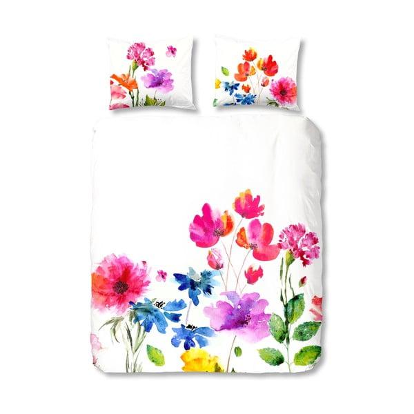 Povlečení Muller Textiel Flowers Colour, 200x200cm