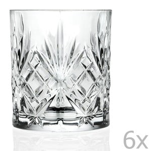 Set 6 pahare din cristal Côté Table Amedea, 310 ml