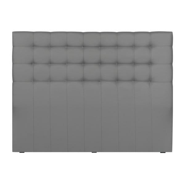 Čelo postele ve stříbrné barvě Windsor & Co Sofas Deimos, 140 x 120 cm