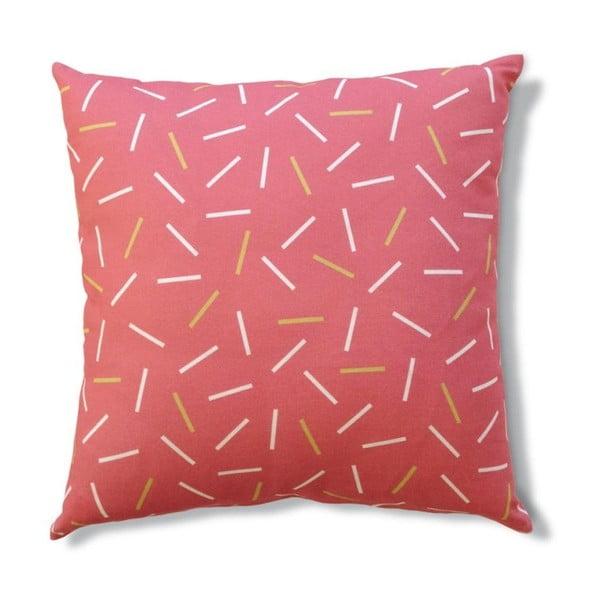Povlak na polštář Matches Pink, 45x45 cm