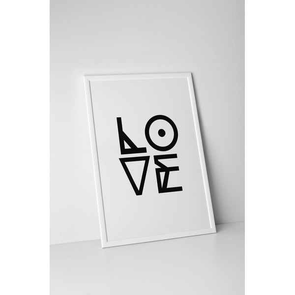 Autorský plakát Graphic Love, vel. A3