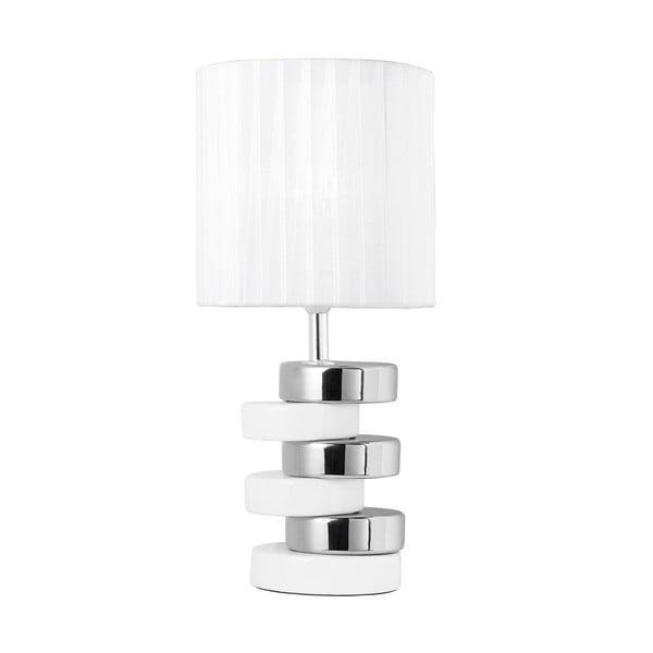 Stolní lampa Disco, bílá