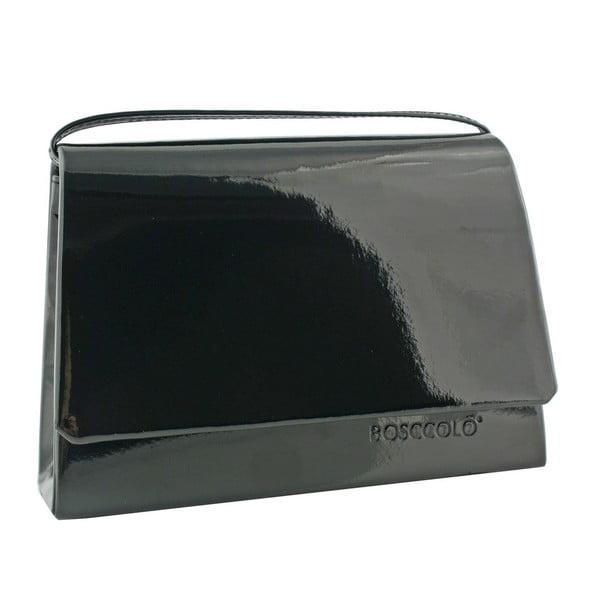 Kožená kabelka/psaníčko Boscollo Black 3154