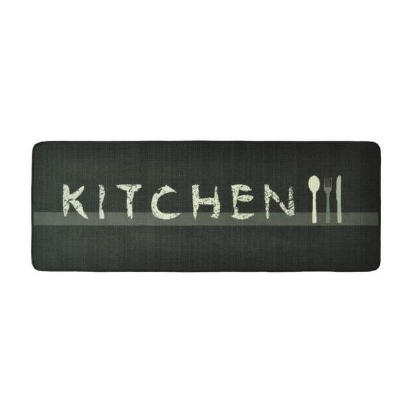 ŠedýHnědý kuchyňský běhoun Zala Living Kitchen, 67 x 180cm