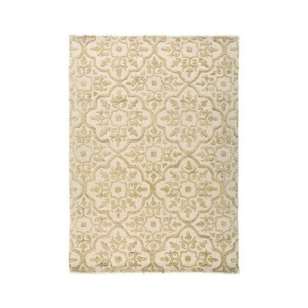 Béžový ručně tkaný koberec Flair Rugs Knightsbridge, 200x290cm