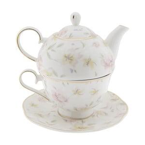Porcelánová čajová souprava Clayre&Eef Anastasia