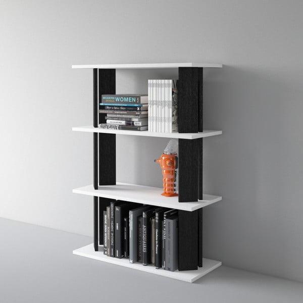 Knihovna Replay 112x80 cm, černá