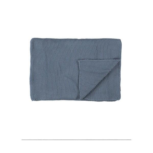 Pléd Marc O'Polo Nordic, 130x170 cm, modrý