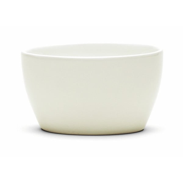 Bol din gresie ceramică Kähler Design Ursula, 11 x 8 cm, alb