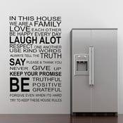 Samolepka na stěnu About Family, 60x90 cm