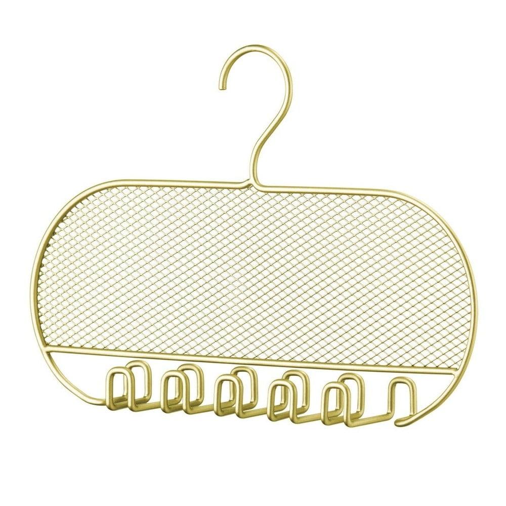 Kovový závěsný držák na šperky InterDesign, šířka 45 cm