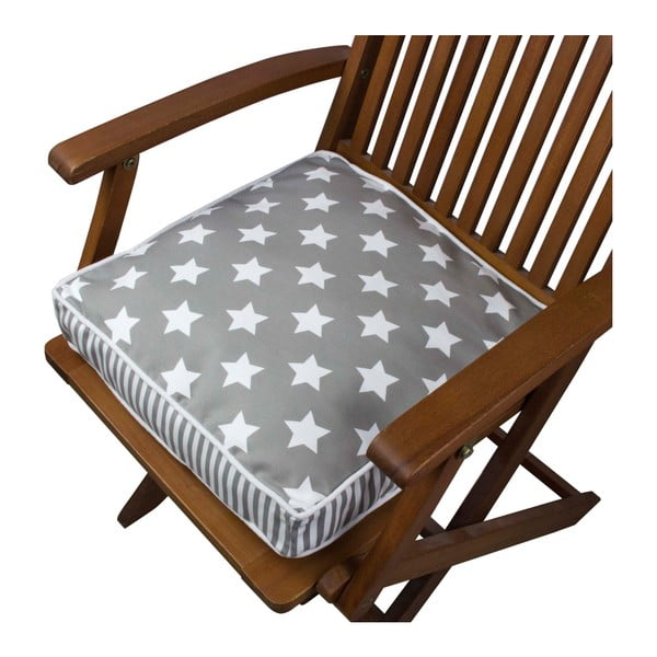 Pernă pentru scaun Gravel Star Sky Dark, 42x42cm,cuumplutură