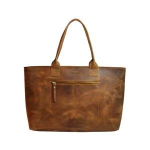 Hnědá kožená vintage kabelka O My Bag Madam Rose