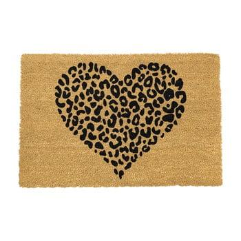 Covoraș intrare din fibre de cocos Artsy Doormats Leopard Pint, 40 x 60 cm imagine