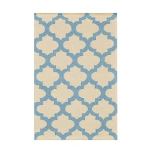Vlněný koberec Kilim no. 11151, 90x150 cm