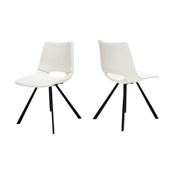 Sada 4 bílých židlí Canett Coronas