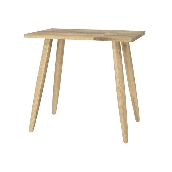 Taboret z drewna dębowego Canett Uno