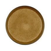 Farfurie adâncă din ceramică Bitz Mensa, diametru 27 cm, galben ocru