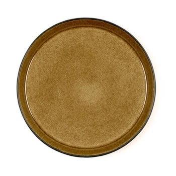 Farfurie adâncă din ceramică Bitz Mensa, diametru 27 cm, galben ocru de la Bitz