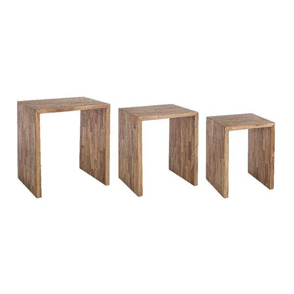 Set 3 stolků Simplicity
