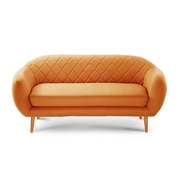 Canapea pentru 3 persoane Diva Criss Cross, portocaliu