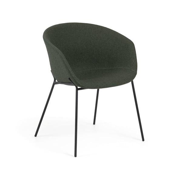Zielony fotel La Forma Zadine