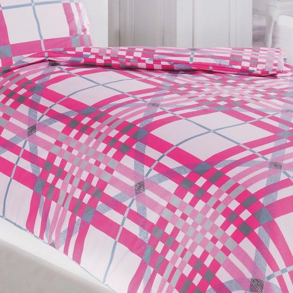 Povlečení Feanor, 155x220 cm, pink