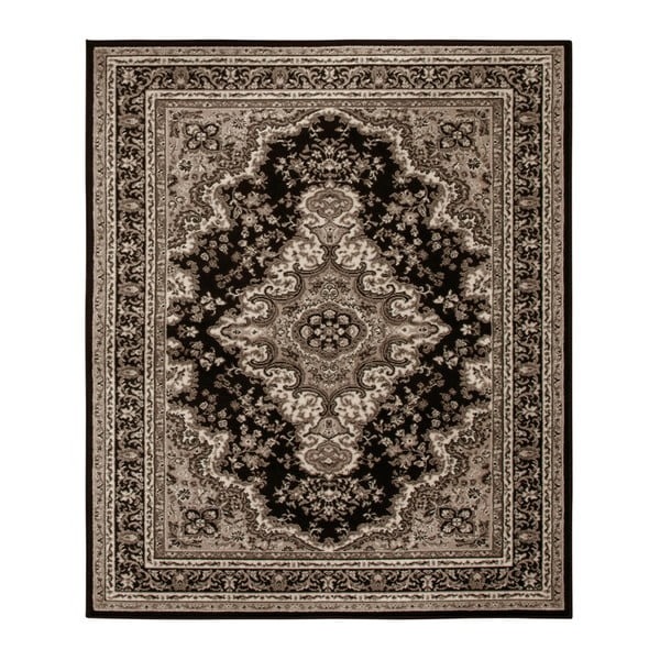 Koberec Hanse Home Prime Pile Ornamental Brown, 190 x 280 cm