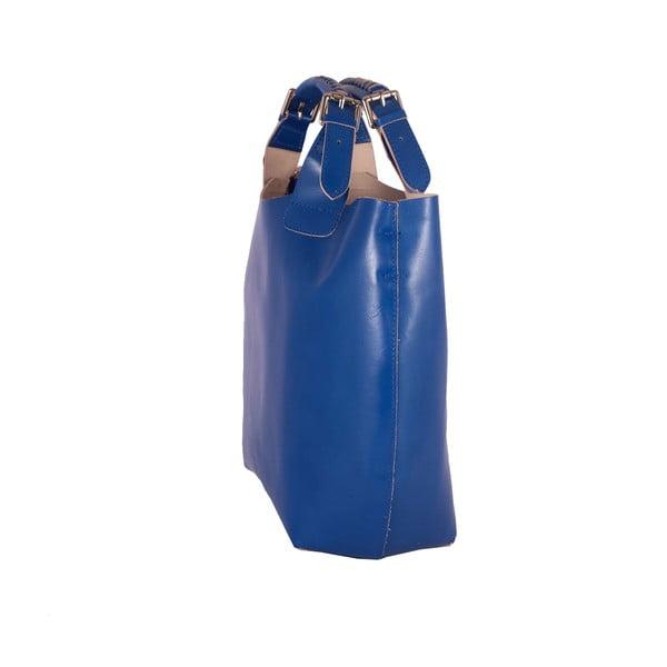 Kožená kabelka Andrea Cardone 2004 Blue Cobalto