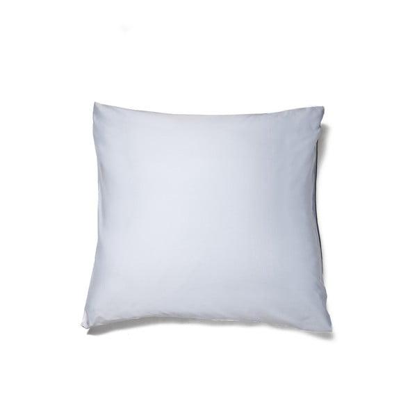 Světle modrý povlak polštář z bavlněného saténu Casa Di Bassi Basic, 80x80cm