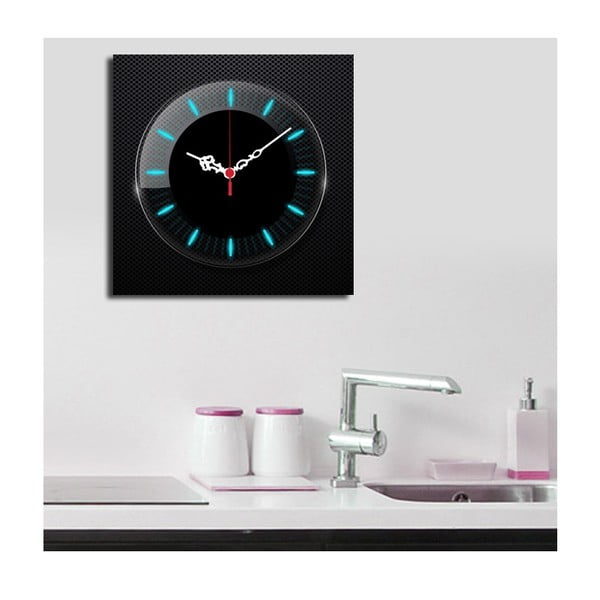 Obrazové hodiny Zářivé