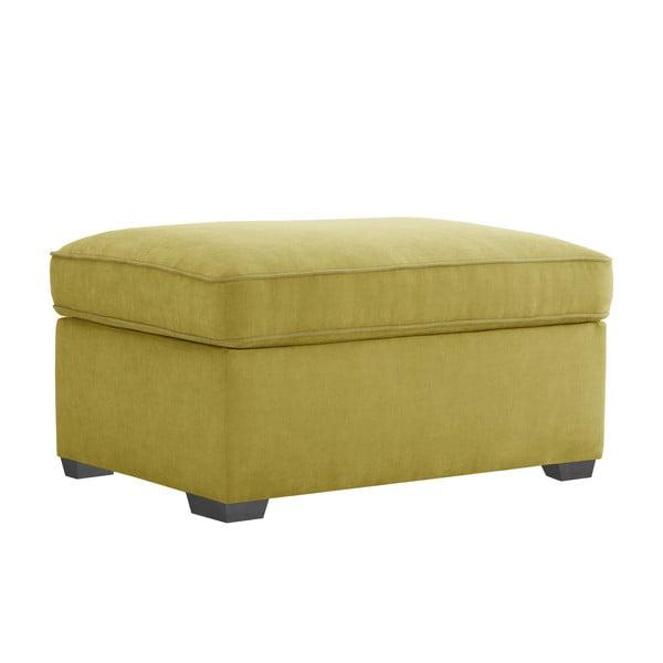 Žlutá taburetka Jalouse Maison Serena