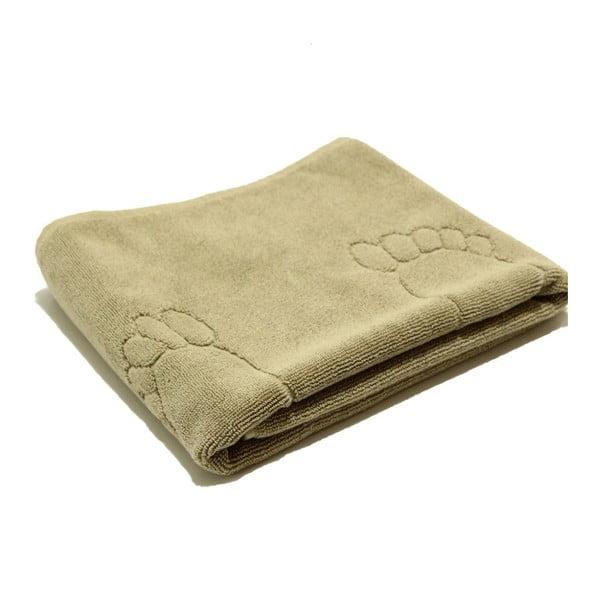 Béžový bavlněný ručník My Home Plus Relax, 55 x 95 cm
