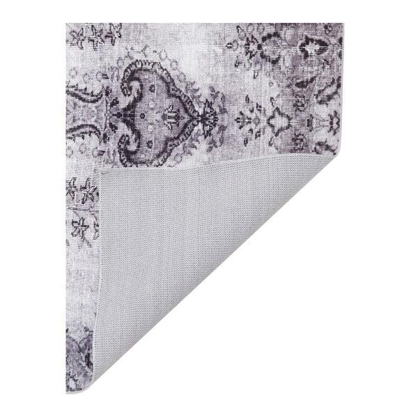 Světle šedý koberec odolný proti skvrnám Floorita Jasmine, 200x290cm