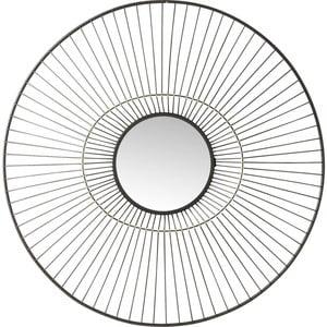 Oglindă de perete Kare Design  Filo, Ø 77 cm