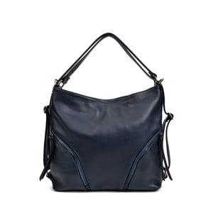 Tmavě modrá kožená kabelka Isabella Rhea Giuseppe