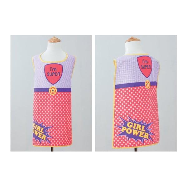Dětská kuchyňská zástěra Super Girl