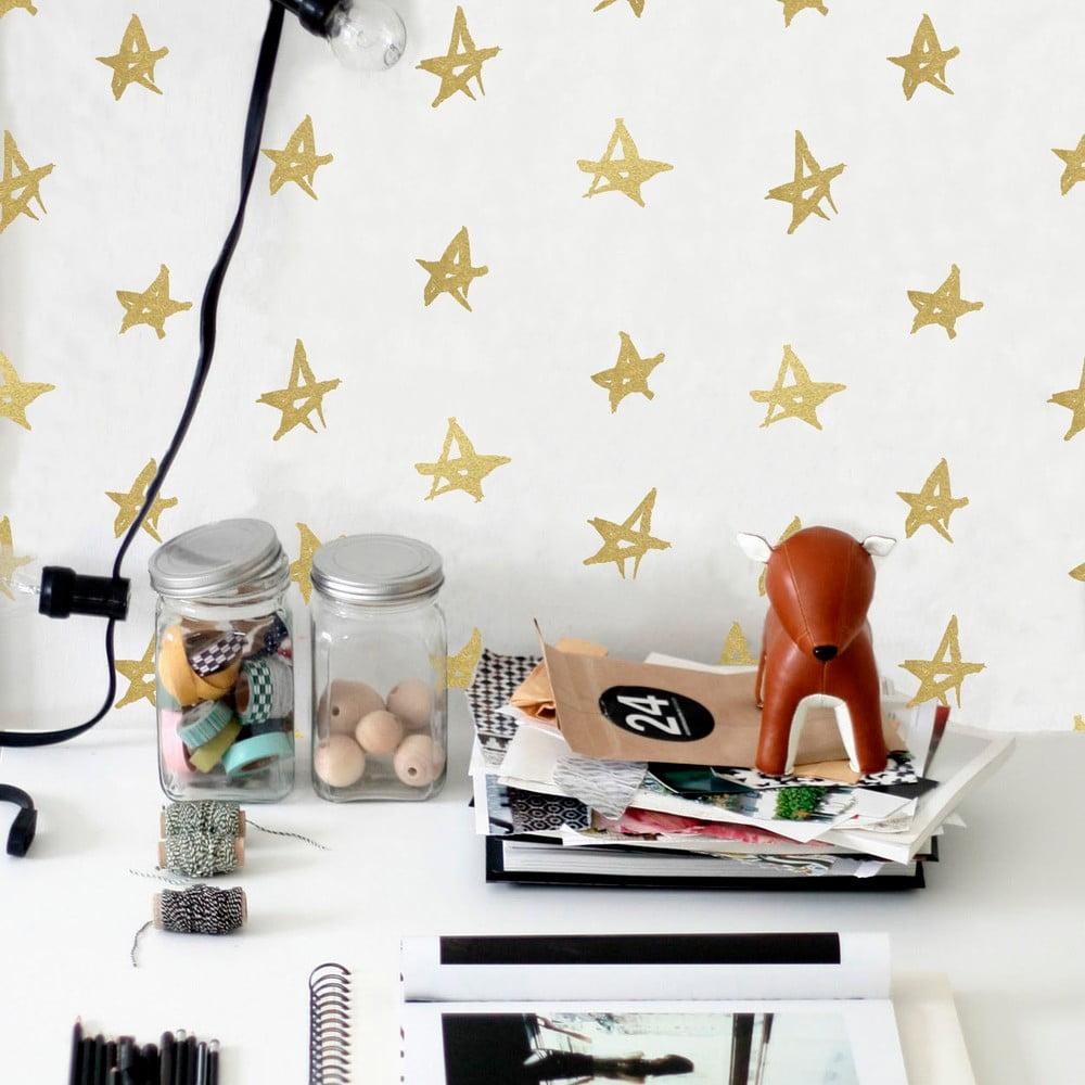vinylov samolepka na st nu little nice things playroom stars bonami. Black Bedroom Furniture Sets. Home Design Ideas