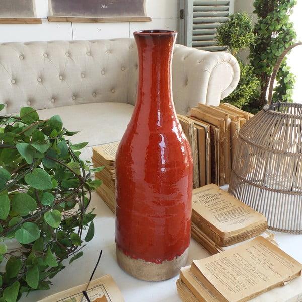 Váza Orchidea Milano Atomic Red, výška44cm