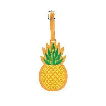 Etichetă în formă de ananas pentru valiză Kikkerland imagine