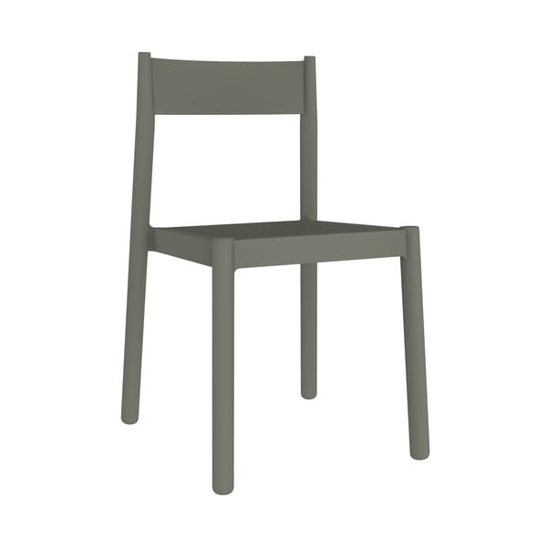 Set 4 scaune de grădină Resol Danna, gri verzui