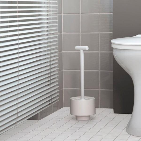 Toaletní kartáč Kali, tmavě šedý