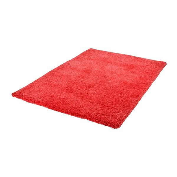 Červený ručně vyráběný koberec Obsession My Carnival Car Cora, 60 x 110 cm