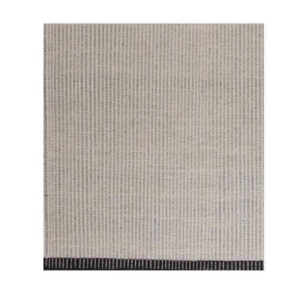Béžový vlněný koberec Linie Design Hisa, 140x200 cm