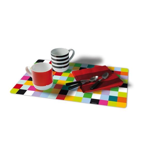 Sada 4 prostírání Remember Mosaic, 44 x 28,5 cm
