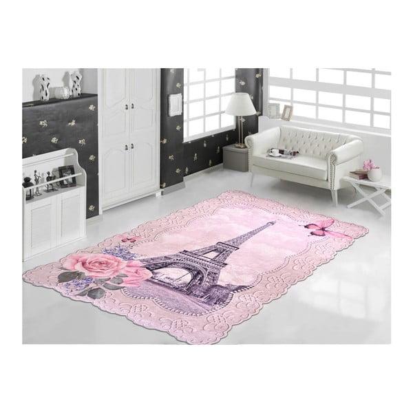 Odolný koberec Vitaus Kamio Pembe, 80 x 120 cm
