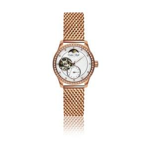 Dámské hodinky s páskem z nerezové oceli ve růžovozlaté barvě Walter Bach Malso